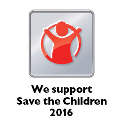 We support Save the Children 2016